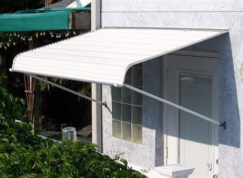House Awnings With Sides 1100 Series Door Canopy With Support Arms
