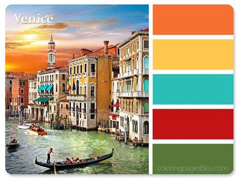 italy colors european destinations color palette