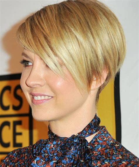 pictures of the back of jenna elfman hair jenna elfman s short haircut hair cuts pinterest