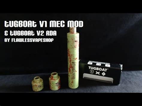 tugboat rda v1 tugboat mec mod v1 w tuboat v2 rda review youtube
