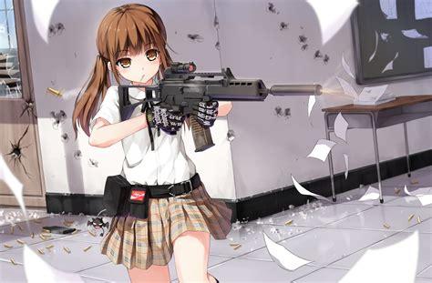 h yuri original characters yuri shoutu gunslinger g36