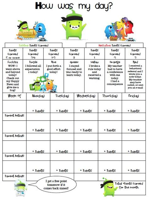 printable reward chart classroom 25 best ideas about daily behavior report on pinterest