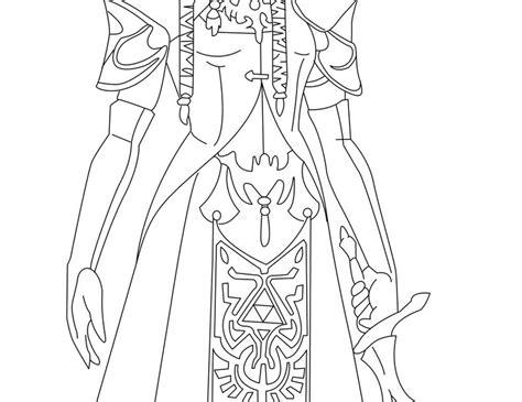 princess zelda coloring page zelda coloring pages princess zelda coloring page