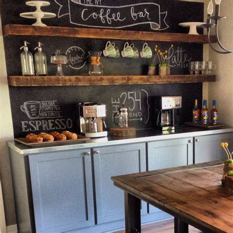coffee bar ideas home bar design