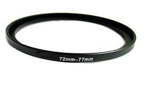 Jc02 72 67mm Step Ring Filter Adapter 72mm 77mm 72 77 step up ring filter adapter uk