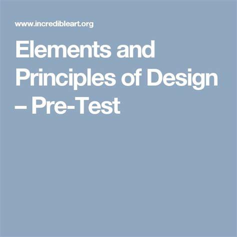 design elements test 25 best elements and principles ideas on pinterest art
