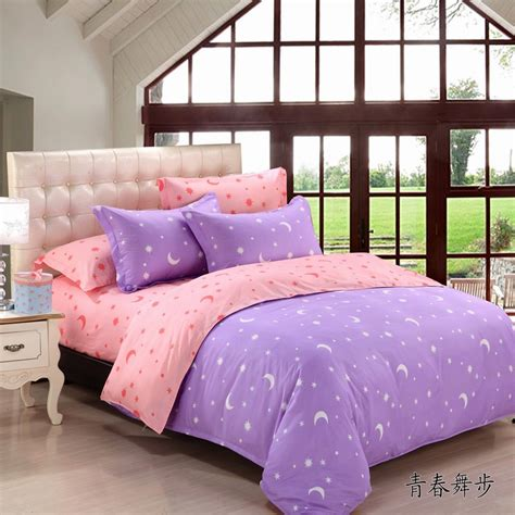 moon bedding korean style stars and moons bedding set 3pcs 4pcs kids