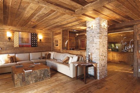 Rustic Rooms by Rustic Modern Living Room Decor And Design Ideas