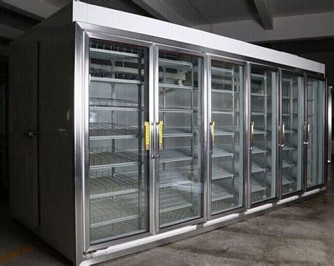 glass door walk in cooler shelf cold room manufacturers glass door display cold room