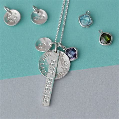 Charm Mix personalised charm mix necklace by louise