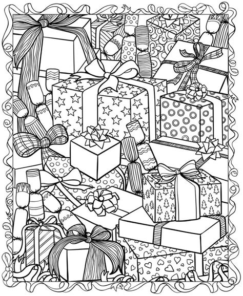 printable coloring pages adults christmas 21 christmas printable coloring pages
