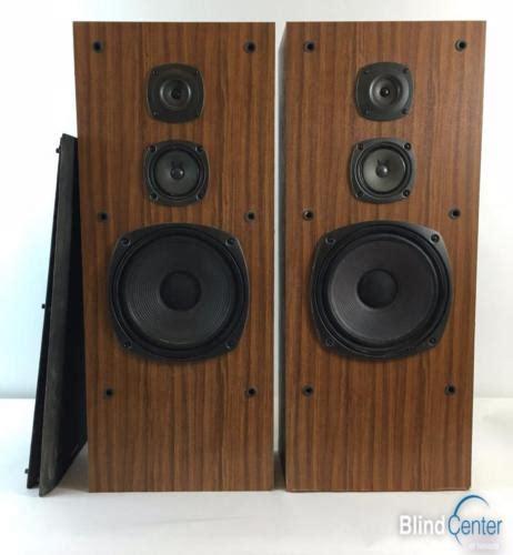 Speaker Subwoofer Kenwood set of kenwood jl 601 3 way 3 speaker system speakers