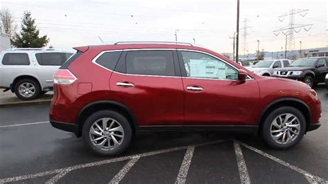 red nissan rogue 2014 nissan rogue sl cayenne red ec757248 kent