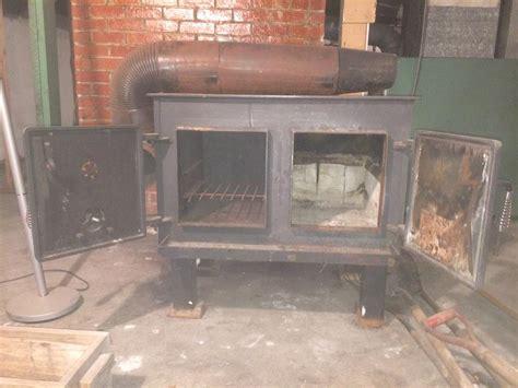schrader baker wood stove outside nanaimo nanaimo