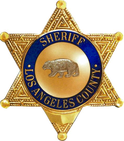 Lax Badge Office by Why Does The La County Sheriff Badge A