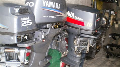 used boat engines 40 hp outboard boat engines used second hand marine