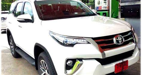 Selimut Mobil Khusus Toyota Fortuner foto foto terbaru all new toyota fortuner 2015 muncul lebih lengkap