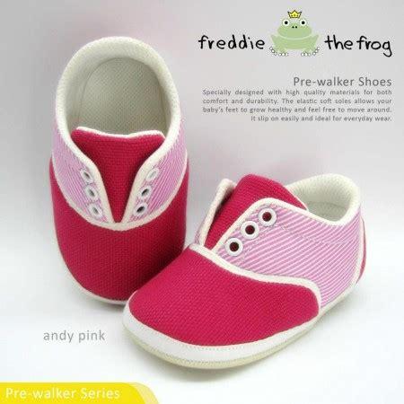 Dijamin Sepatu Freddie The Frog Pink prewalker shoes sandals by freddie the frog jce shop