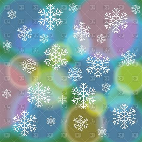 abstract snowflakes seamless pattern background royalty abstract winter background with colorful spots and