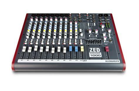 Mixer Allen Heath Zed 1200 Fx allen heath brings back its zed series mixers now with