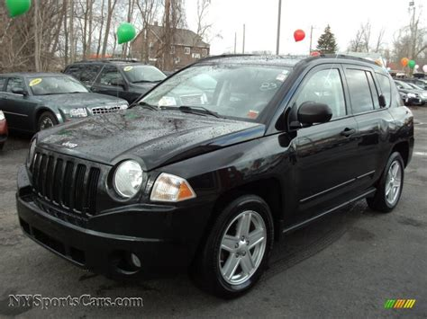Jeep Compas 2008 2008 Jeep Compass Sport 4x4 In Brilliant Black