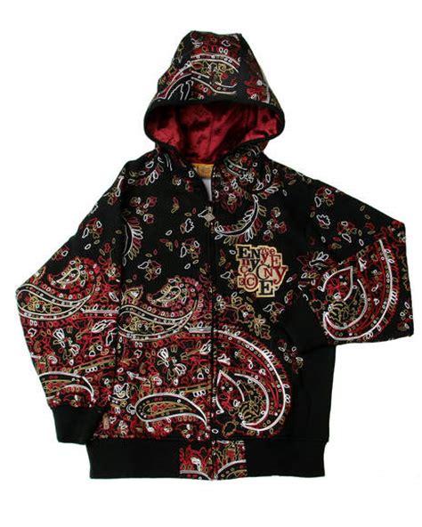 bandana design hoodie enyce clothing the famous urban hip hop clothing brand