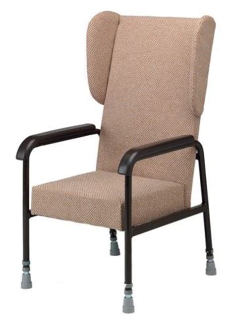Armchairs For Elderly by Height Adjustable Winged High Back Supporting Back