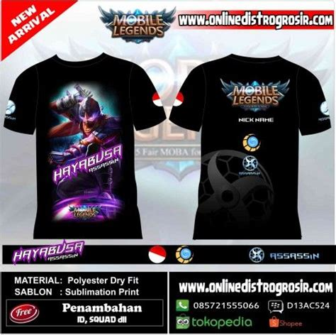 Kaos Mobile Legends Layla 01 12 best t shirt mobile legend images on legends and mobile phones