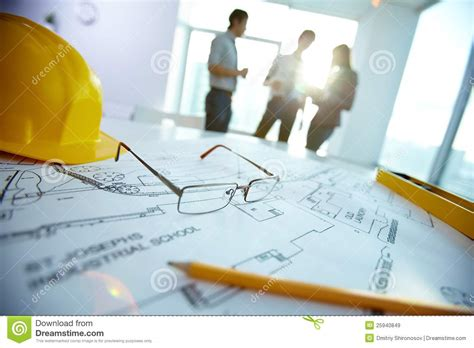 contractor consults engineering objects royalty free stock images image