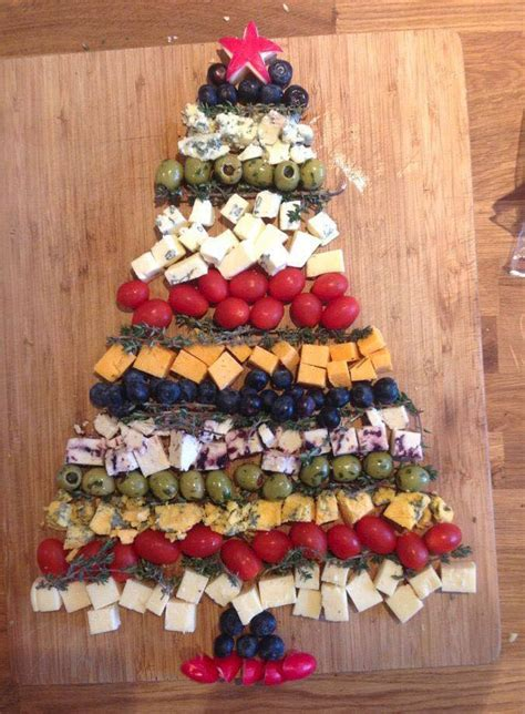 christmas appetizer tree board id 233 e pr 233 sentation ap 233 ro pour no 235 l