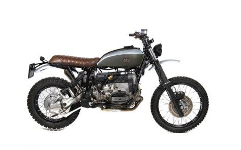 bmw r100gs scrambler bmw r100gs scrambler by officine sbrannetti bikebrewers