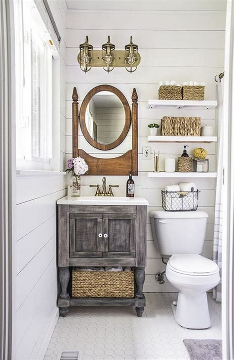 Bathroom Makeovers Country Style Rustic Farmhouse Bathroom Ideas Hative