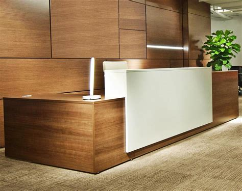 Reception Desk Screen Mayline Napoli 87 Quot Reception L Reception Desk Screen