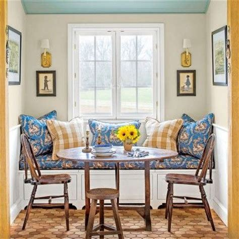 breakfast nook art the dining nook the art of living small bench under