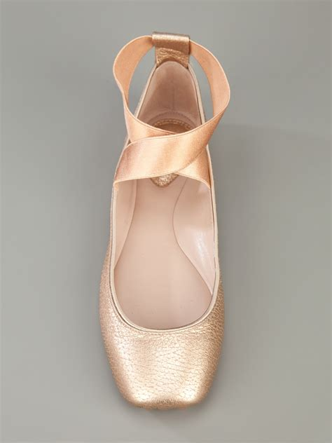 pointe shoe inspired flats ballet flats setting the barre