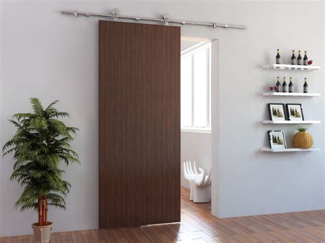 Barn Door Contemporary Interior Doors Other Metro Modern Interior Barn Doors