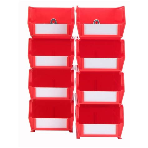 husky shelving parts husky 11 in parts bin organizer 83052n13 the home depot
