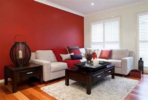 Red Living Room by Creative Red Living Room Designs