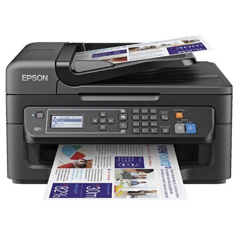 Printer Wifi Epson epson workforce wireless inkjet mfc printer wf 2630 officeworks