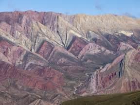 Metal Wall Murals cerro santana rock formation humahuaca region jujuy