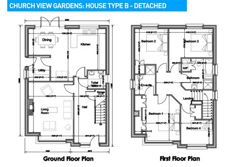 housing blueprints church view gardens house plans ventura homes