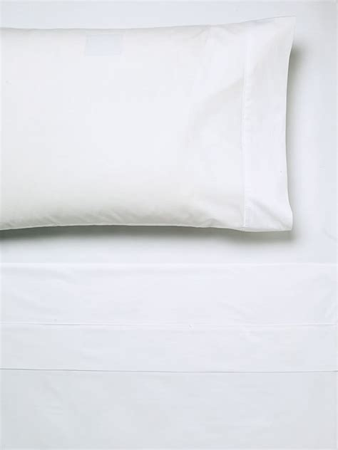 white bed sheet 250tc cotton white fitted sheet linen house