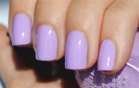light purple nail polish purple nails nails10