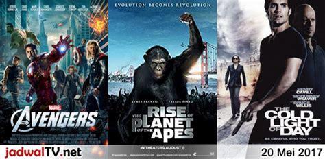 jadwal film frozen 2 jadwal film dan sepakbola 20 mei 2017 jadwal tv