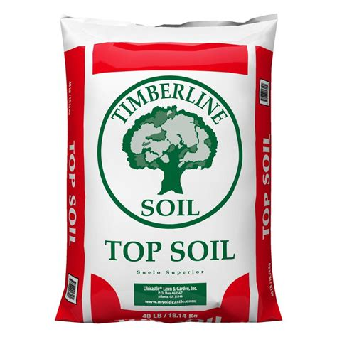 shop timberline 40 lb top soil at lowes