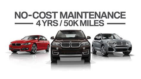 bmw maintenance cost bmw no cost maintenance update to car service warranty