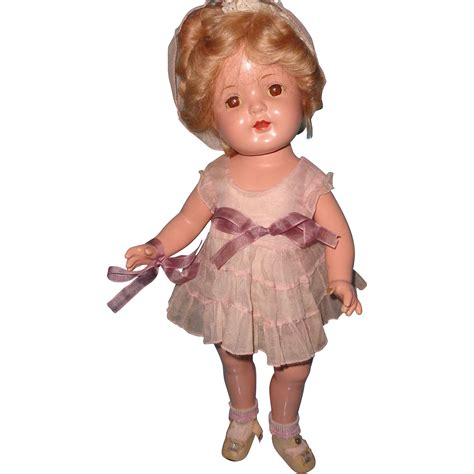 composition nancy doll factory original nancy composition doll by arranbee from