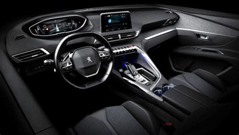 peugeot jeep interior 2017 peugeot 3008 official interior pics leaked