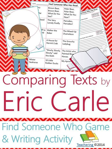 Writing Activity Book 38 best images about author study eric carle on author studies eric carle and