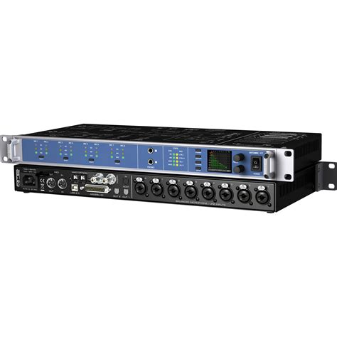 1 Ch Pre Mic rme octamic xtc 8 channel digital mic pre and usb octa xtc